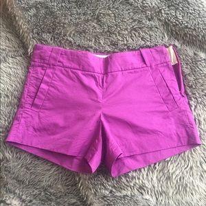 J.Crew Magenta size 2 shorts